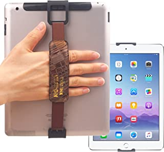 WiLLBee CLIPON 2 DUAL for Tablet PC 7~11 inch (Special Brown) Smart Finger Ring Hand Hold Strap Grip Case Band Holder - iP...