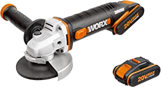 Sponsored Ad – WORX WX800 18V (20V Max) Cordless 115mm Angle Grinder with x2 2.0Ah Batteries