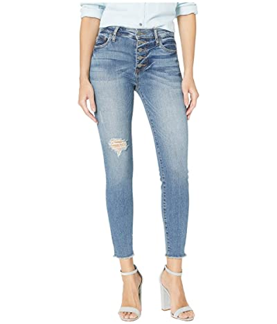 KUT from the Kloth Connie High Rise Ankle Skinny Jeans in Demand w/ Medium Base Wash (Demand w/ Medium Base Wash) Women
