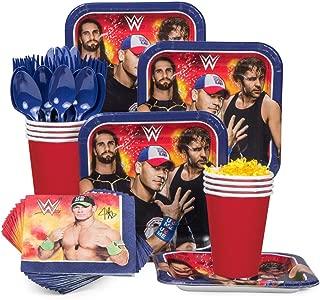 WWE Party Supplies Standard Kit (Serves 8)
