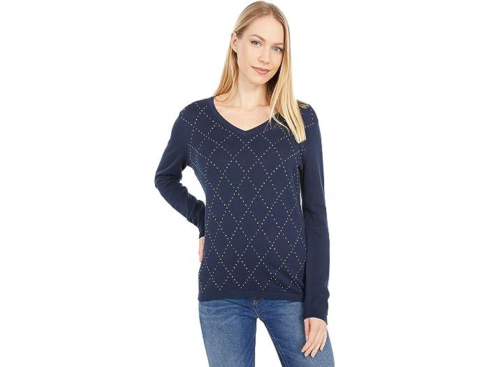 Tommy Hilfiger Hotfix Argyl Ivy Sweater