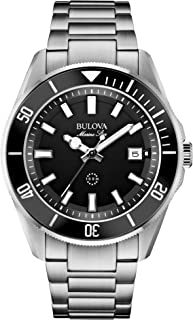 Men's 98B203 Stainless Steel Watch