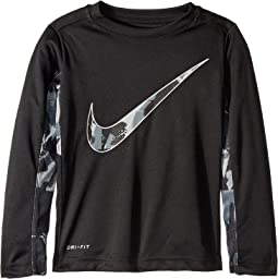 Dri-FIT Long Sleeve Graphic Legacy Top (Little Kids)