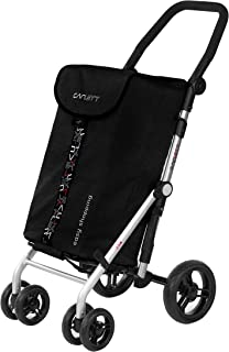 comprar comparacion Carlett Carro DE LA Compra Lett 450, Nueva Coleccion 2020, Negro,