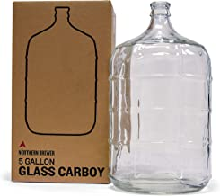 Northern Brewer - Glass Carboy Fermenter for Beer Brewing, Wine Making (5 Gallon)