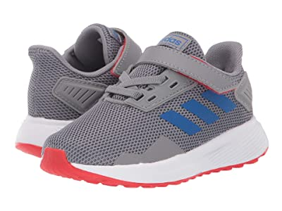 adidas Kids Duramo 9 (Infant/Toddler) (Grey/Blue/Red) Boys Shoes
