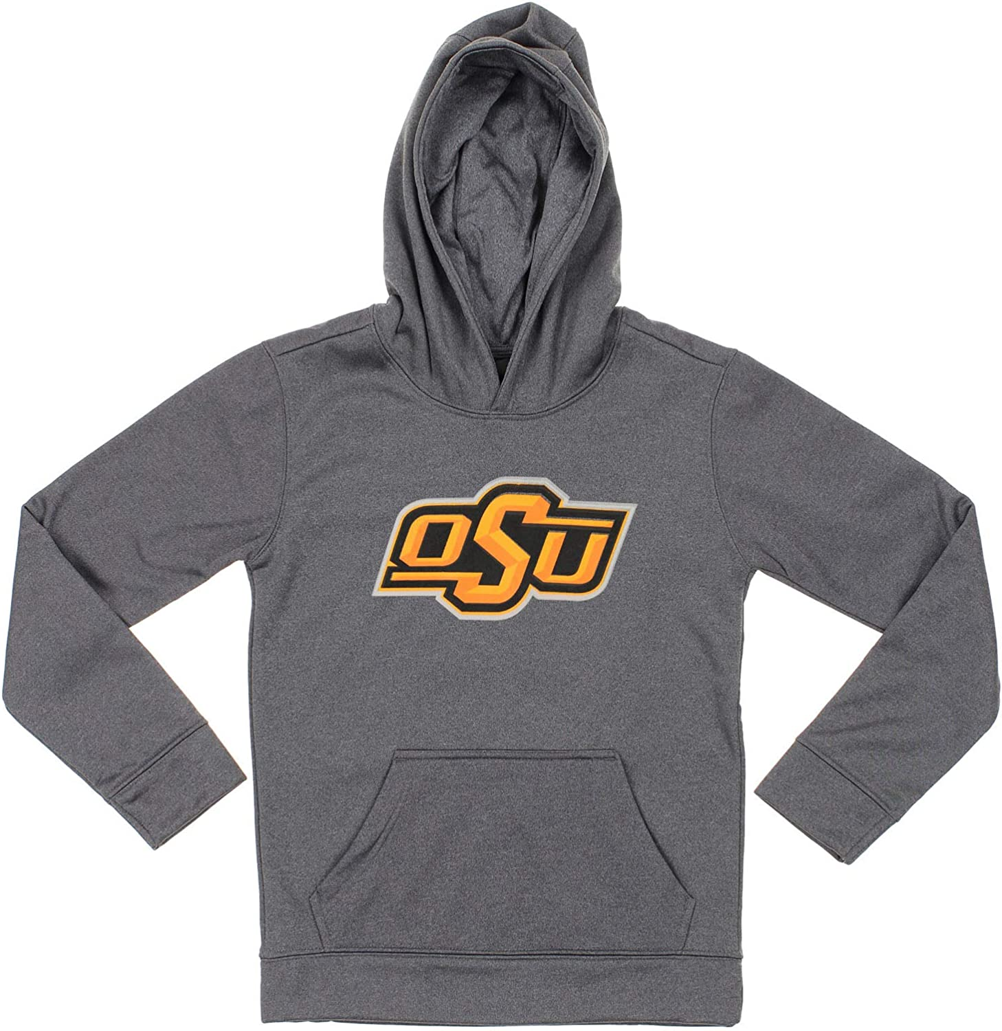 Outerstuff NCAA New Orleans Mall Big Boys Youth Grey 8-20 Okl Hoodie Super popular specialty store Pullover