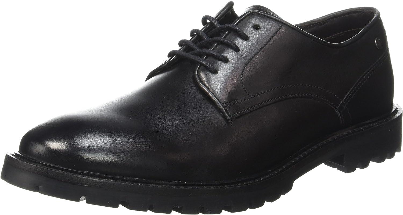 Bas London herr Barrage Loafer Loafer Loafer Low skor svart  kvalitetsprodukt