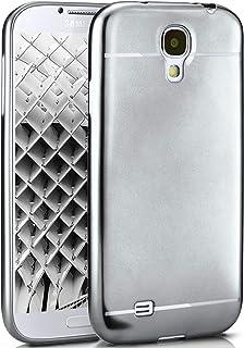 88fb4f85e1b MoEx Caso Suave para Samsung Galaxy S4 | Funda de Silicona con Efecto  metálico Mate