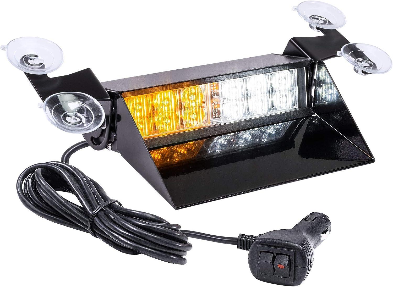 SolarBlast SBWL26 12W AMBER Super Special SALE held WHITE Dash Flashing LED Year-end gift Emergency Li