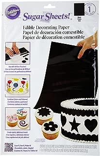 Best wilton sugar sheets black Reviews