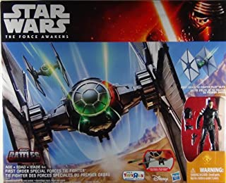 Star Wars First Order Special Forces TIE Fighter - Epic Battles with Action Figure