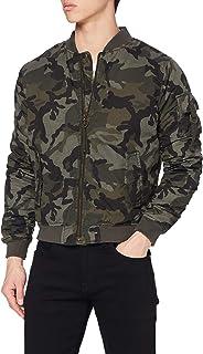 Urban Classics Men's Vintage Cotton Bomber Jacket