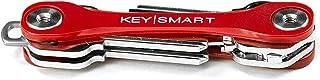 KeySmart Lite - نگهدارنده جمع و جور کلید و سازمان دهنده Keychain (حداکثر 8 کلید ، قرمز)