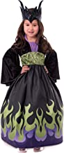 Little Adventures Dragon Queen Dress Up Costume with Soft Crown
