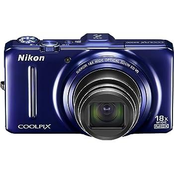 Nikon デジタルカメラ COOLPIX (クールピクス) S9300 ネイビーブルー S9300BL