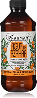 Pharmark Agua De Azahar Flower-Blossom Water, 8 Fluid Ounce