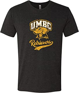 NCAA Retro Script, Team Color T Shirt, College, University