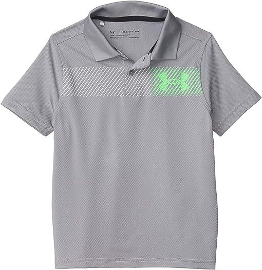 Steel/Laser Green