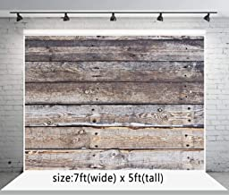 7x5 ft Retro Wood Wall Photo Backgrounds Wooden Photography Backdrops Wrinkle Free Seamless Cotton Cloth