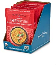 Maya Kaimal Organic Indian Red Lentil Everyday Dal, 10 oz (Pack of 6), Fully Cooked with Butternut Squash and Coconut. Veg...
