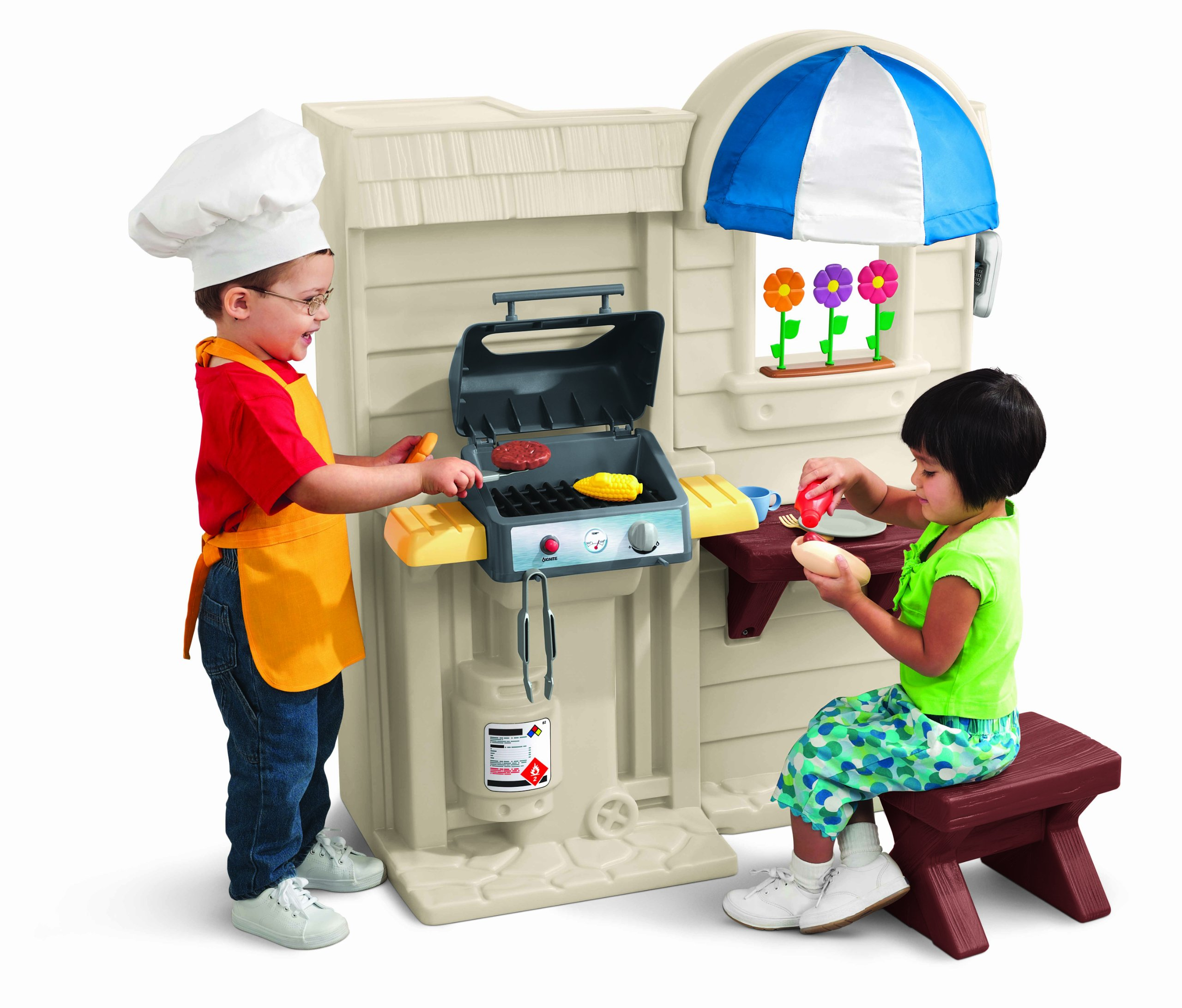 Little Tikes Inside Outside Cook N Grill Kitchen Buy Online At Best Price In Uae Amazon Ae