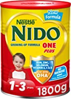 Nestle NIDO One Plus Growing Up Milk Powder Tin for Toddlers 1-3 years, 1800g, Promo Pack