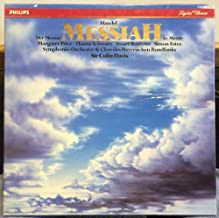 Colin Davis Handel Messiah vinyl record
