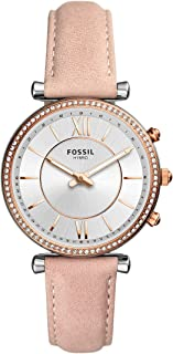 Women's Carlie Stainless Steel Hybrid Smartwatch with Activity Tracking and Smartphone Notifications