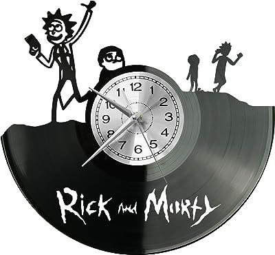 WoD Asterix /& Obelix Horloge Murale en Vinyle avec Plaque sonore r/étro