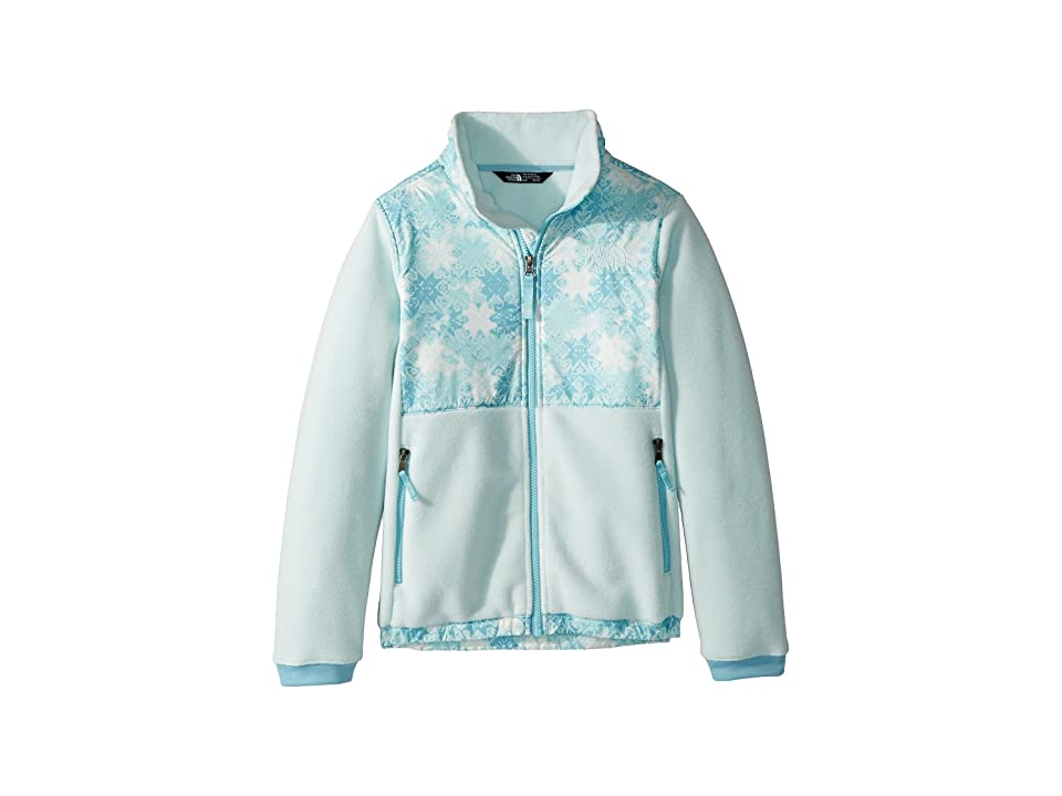 The North Face Kids Denali Jacket (Little Kids/Big Kids) (Origin Blue Snowflake Fair Isle Print (Prior Season)) Girl