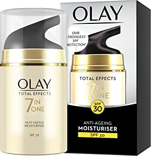 OLAY 玉兰油 有效七合一抗衰老保湿霜,含SPF30,烟酰胺,维生素C和E,50 ml