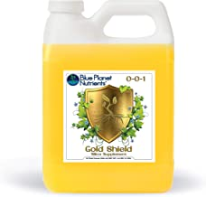 Gold Shield Silica Supplement for Plants (1 Quart/32 oz) Ultra Concentrated | Makes Over 900 GALLONS | Strengthens & Prote...