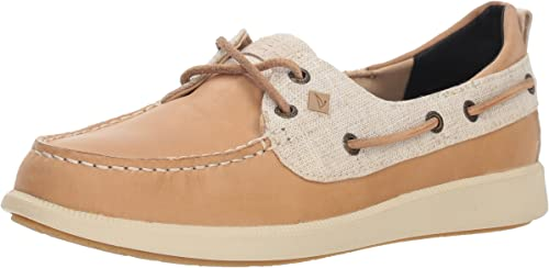 Sperry Wohommes Oasis Dock Boat chaussures, Linen, 10 M US