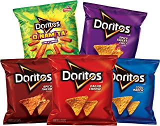 Doritos Flavored Tortilla Chips Variety Pack, 40 Count
