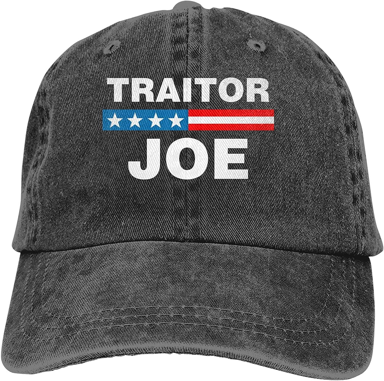 Traitor Joe Unisex Baseball Cap Adjustable Dad Hat Washable Cowboy Hat Black