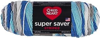RED HEART Super Saver Yarn, Stripe - Calm