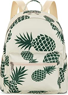 Mini Backpack Girls Pineapple Water-resistant Small Daypack Shoulder Bag for Womens Adult Kids Unisex