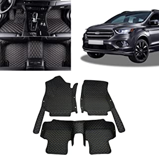 Toryea All Full Surrounded Floor Liner All Weather Waterpoof Anti-Slip Fit Ford Escape 2007 2008 2009 2010 2011 2012
