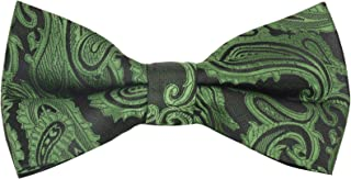Men's Paisley Pre-Tied Bow Tie - Many Colors Available