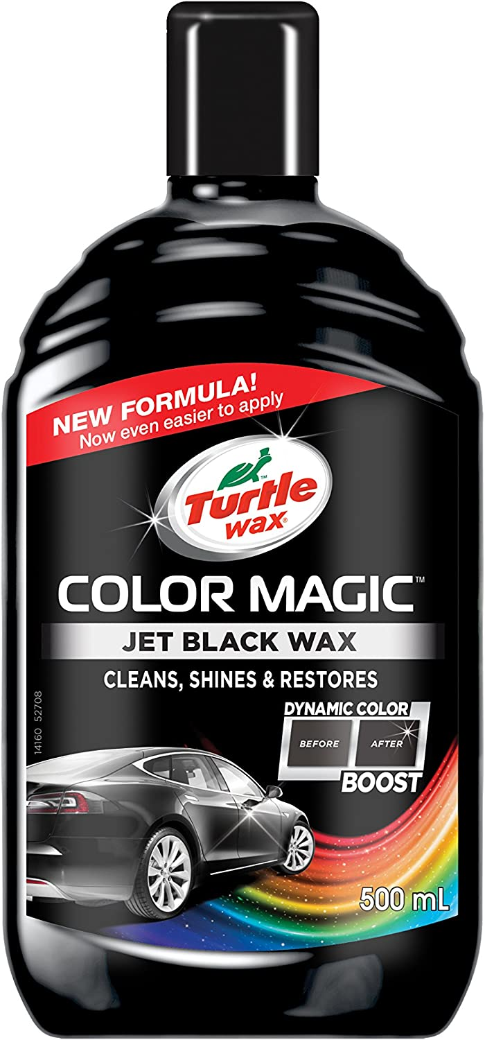 Turtle Wax Color Magic Car Polish Schwarz Glänzend 500ml Auto