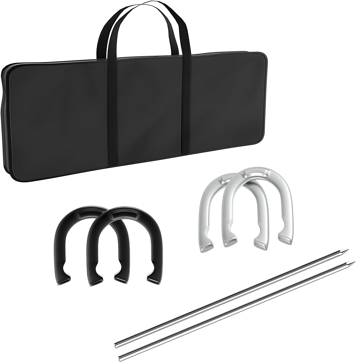 Mesa Mall Direct sale of manufacturer Hey Play Trademark Games Professional - Heavy Horseshoe Set Du