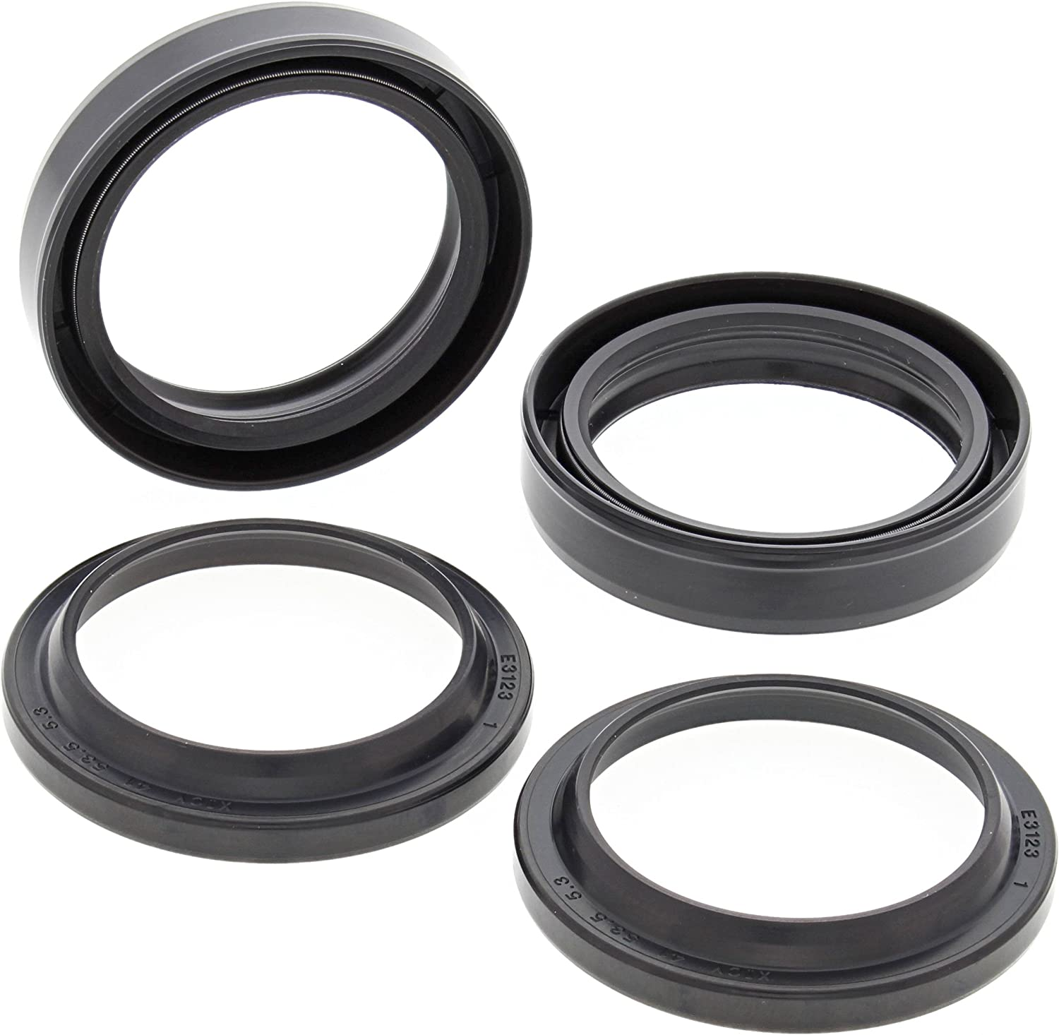 All Balls Racing 56-128 Fork Large-scale sale and Brand new Multi Dust Kit Seal