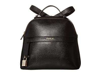 Furla Piper Small Backpack (Nero) Backpack Bags