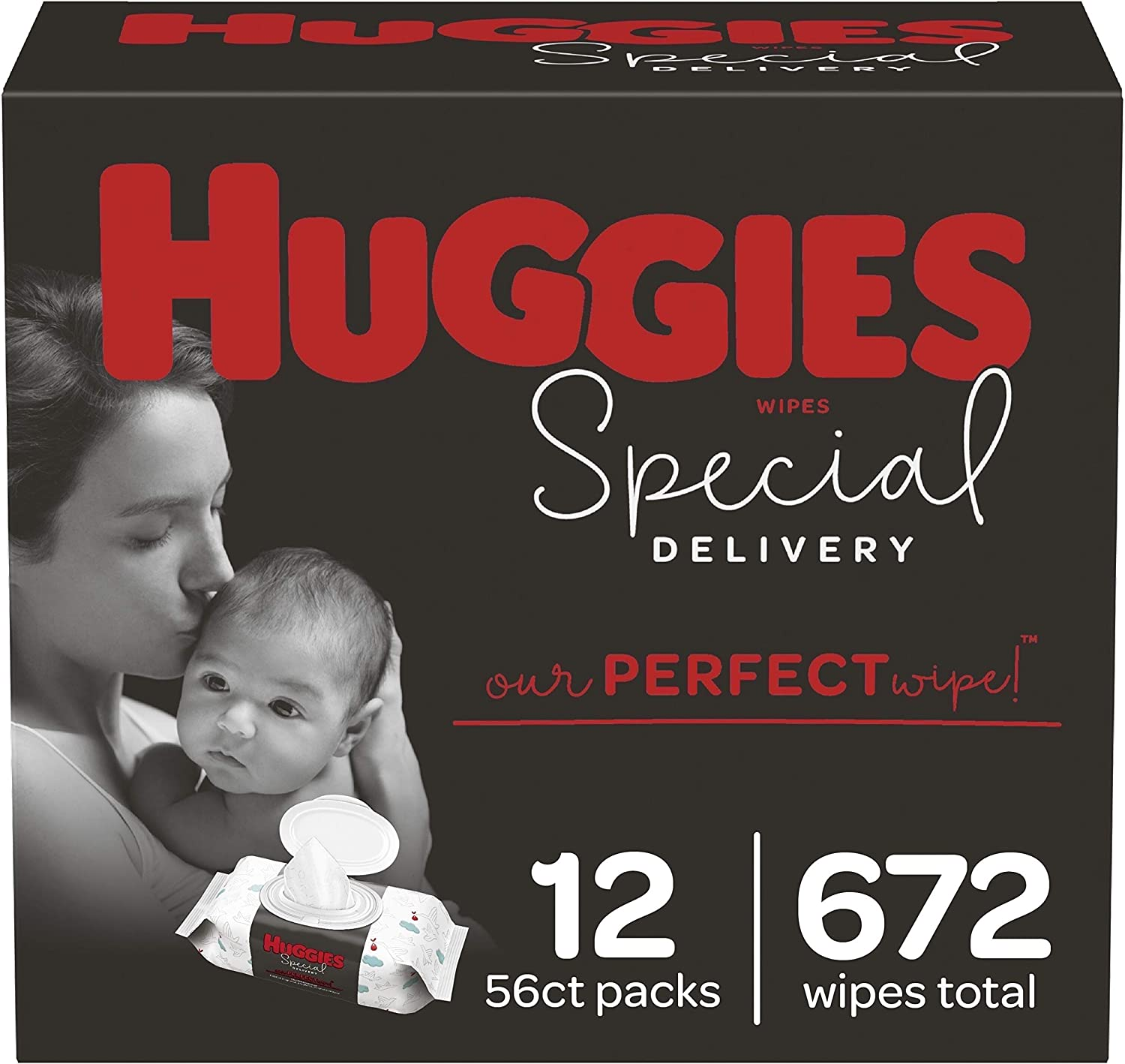 Indefinitely outlet Hypoallergenic Baby Wipes Unscented Huggies Special B Delivery