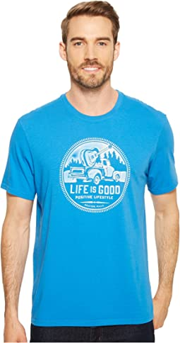 Life is Good - Positive Lifestyle Truck Smooth Tee