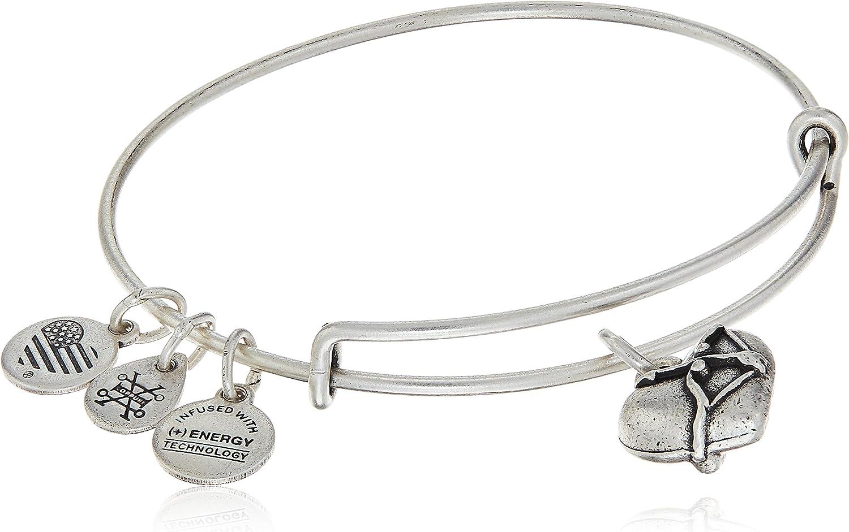 Alex and Ani Cupid's Heart Bracelet Max 42% OFF II Rafaelian Silver Charm free