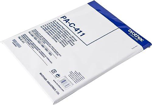 Brother PA-C-411 Papier thermique A4 210 mm X 297 mm pour PJ-520 / 522 / 523 / 560 / 562 / 563