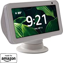 Made for Amazon Tilt + Swivel Stand in White, for the Echo Show 8