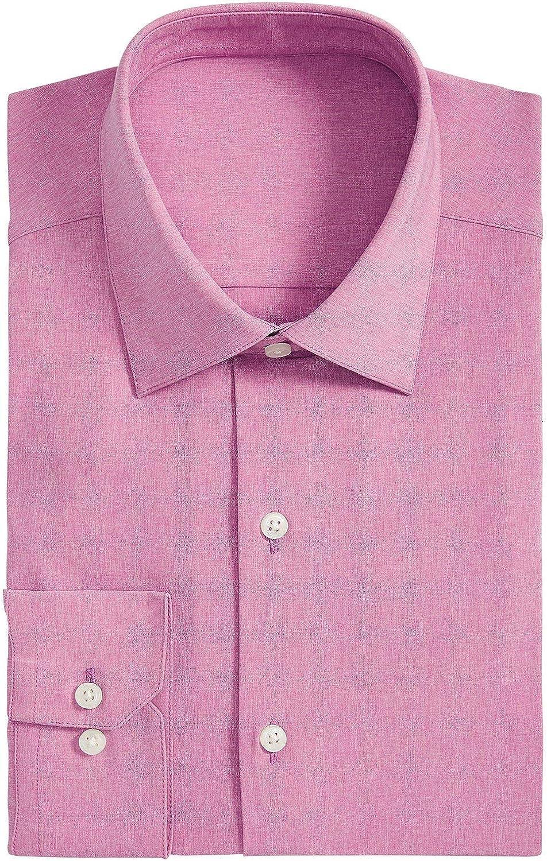 Alfani - Camisa de vestir para hombre - Rosa - 36 cm- 37 cm ...
